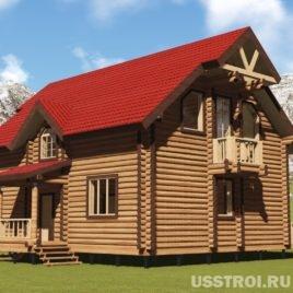 Оцилиндрованные бревна в Кирове