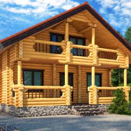 Строительство дома из оцилиндрованного бревна – технология сборки бревенчатого сруба