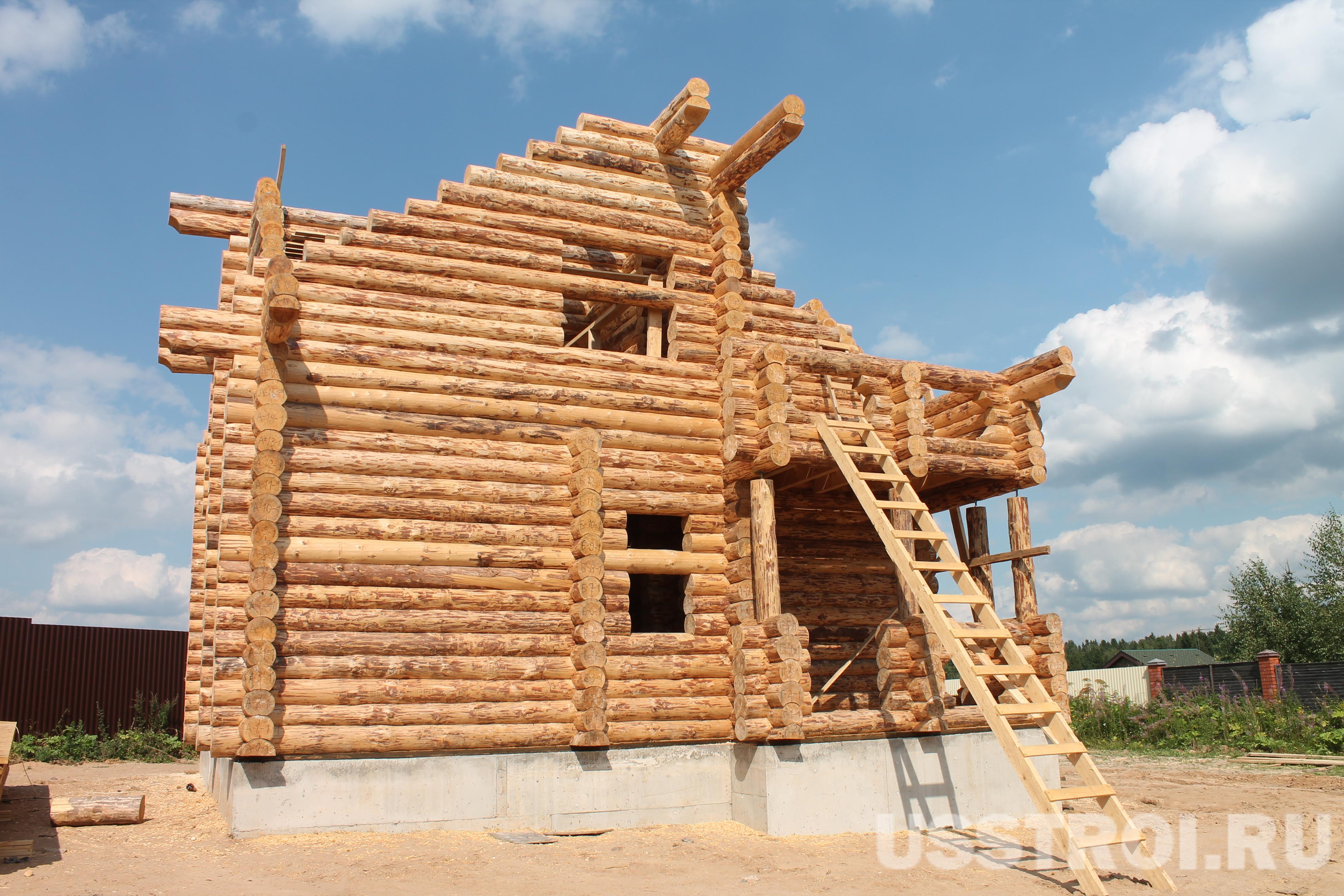 Строительство в д. Удино
