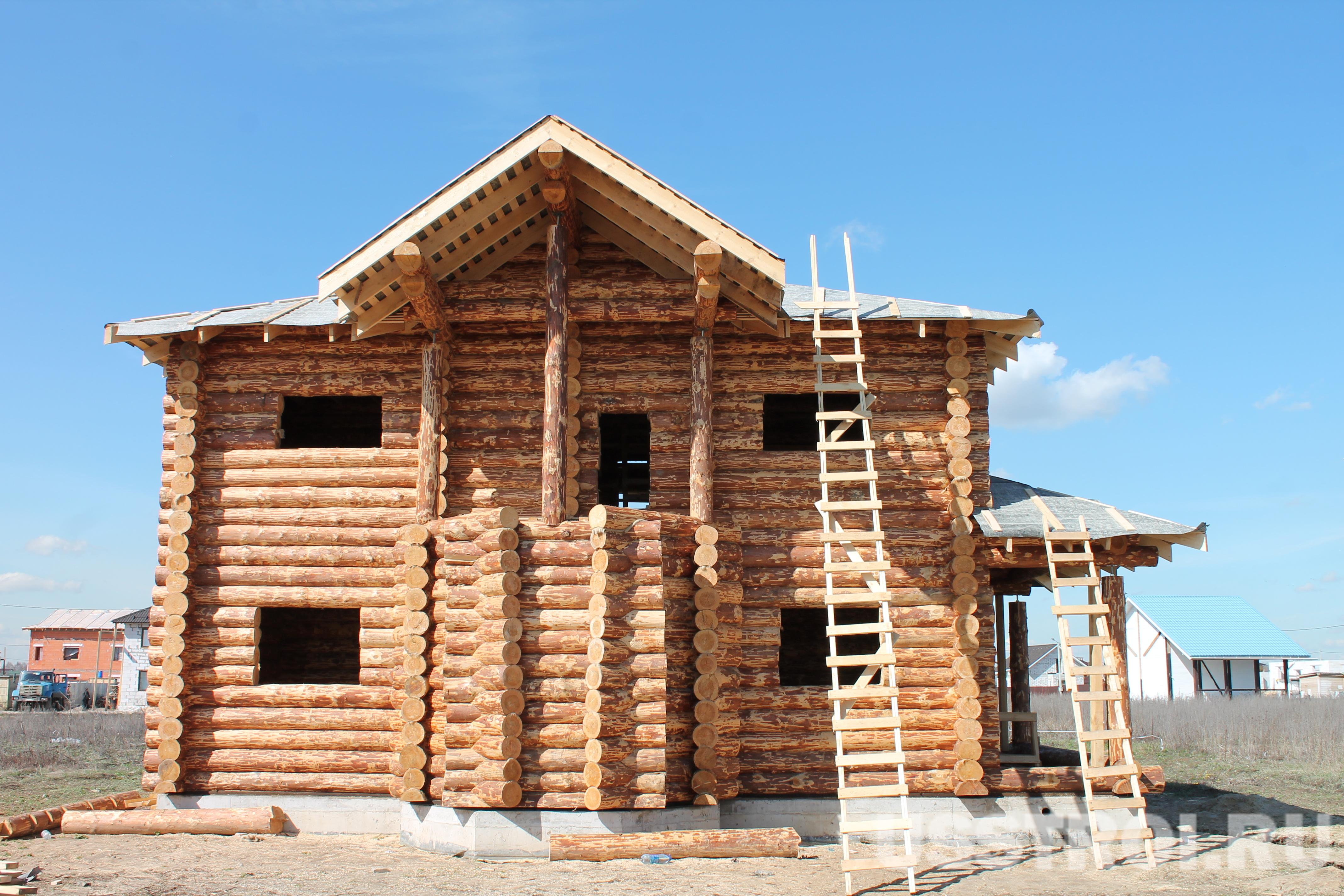Строительство дома в пос. Купавна Лайф 2