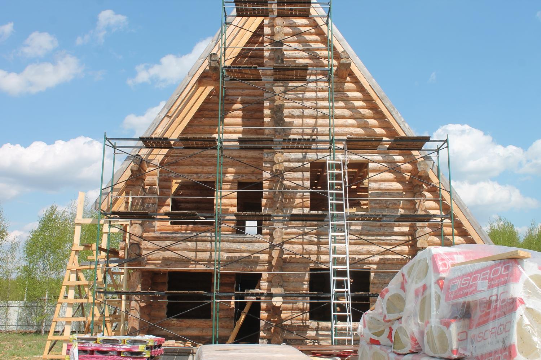 Начало отделки дом Морозовка